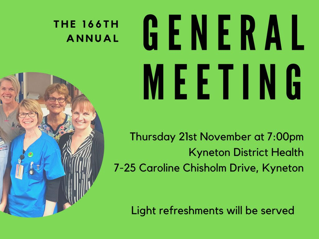 Invitation to the KDH 2019 AGM